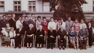 Fotka z rodinnej oslavy