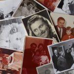 Koláž starých rodinných fotiek