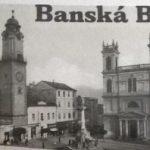 Námestie v Banskej Bystrici s Mariánskym stĺpom