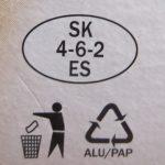 Grafické značky na obale výrobkov.